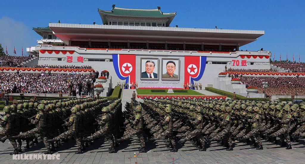 ทหารเกาหลีเหนือ สวนสนามที่ใหญ่ที่สุด เกาหลีเหนือกำลังเตรียมพร้อมสำหรับสิ่งที่คาดว่าจะเป็นการสวนสนามทางทหารที่ใหญ่ที่สุดในประวัติศาสตร์