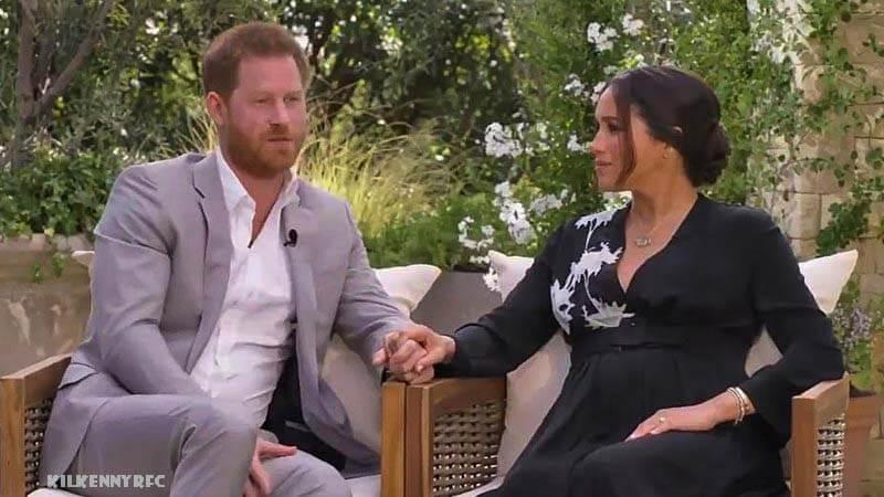สัมภาษณ์ Meghan และ Harry Oprah uke of Sussex มีความคล้ายคลึงกันระหว่างการปฏิบัติต่อแม่และภรรยาของเขาในคลิปทีเซอร์ของรายการทีวีพิเศษ