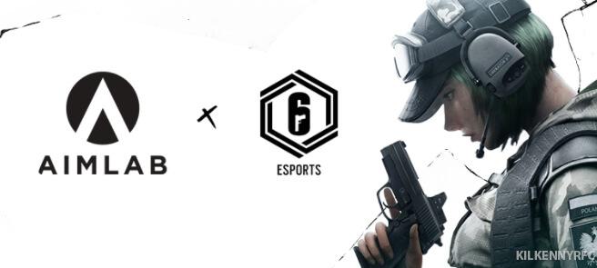 Aim Lab ได้รับเลือกให้เป็นแพลตฟอร์มการพัฒนาผู้เล่นสำหรับ Rainbow Six Siege esport game Ubisoft ผู้เผยแพร่เกมได้ยกให้ Aim Lab แพลตฟอร์มประสิทธิภาพ